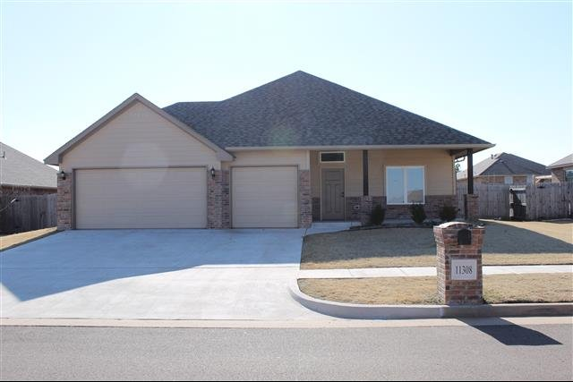 house for rent in 11308 nw 103rd street yukon ok